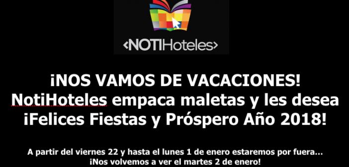 NOTIHOTELES SE VA DE VACACIONES