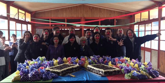 Desayuno en Escuela Diferencial en Osorno