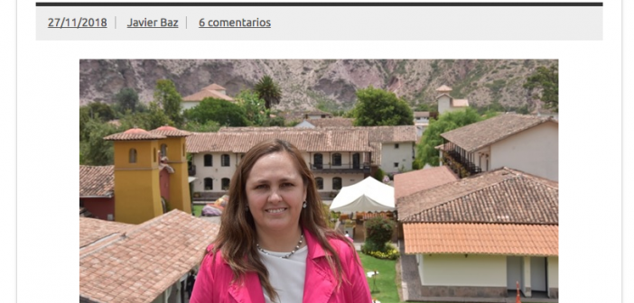 Entrevista a Elizabeth Carlotto Gerente de SPI Yucay