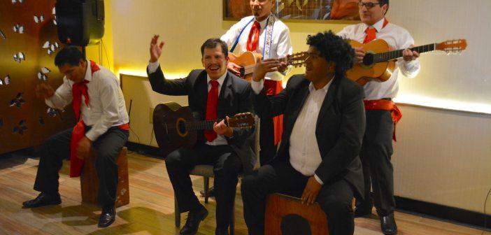 Canción Criolla en Sonesta Cusco