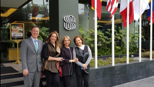 Importantes mujeres Colombianas visitan el Hotel Sonesta El Olivar