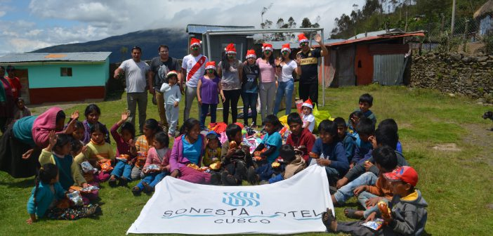 Alegría en Challabamba