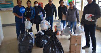 Vista solidaria del Hotel Sonesta Cusco al hospital Regional