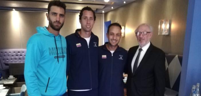 Recordando la visita de los campeones de Wimbledon al FPS Bogotá en febrero