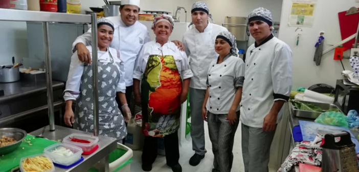 Cocina Taller en el Park Inn By Radisson de Barrancabermeja
