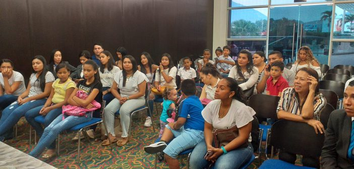 Acercamiento con las Familias en el Hotel Sonesta Valledupar