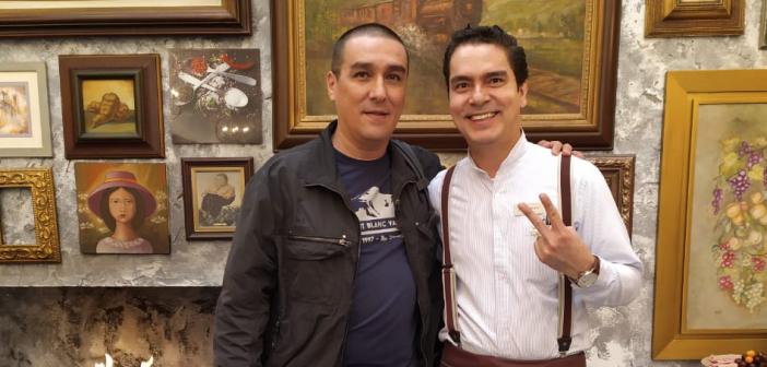 El caricaturista  de la oposición «Matador»  feliz en el Hamilton