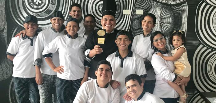 Sonesta Valledupar ganador de concurso gastronómico en la categoría de mejor restaurante