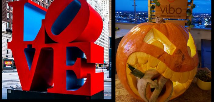 El arte de la escultura llega a «Villavo» para crear una zona selfie