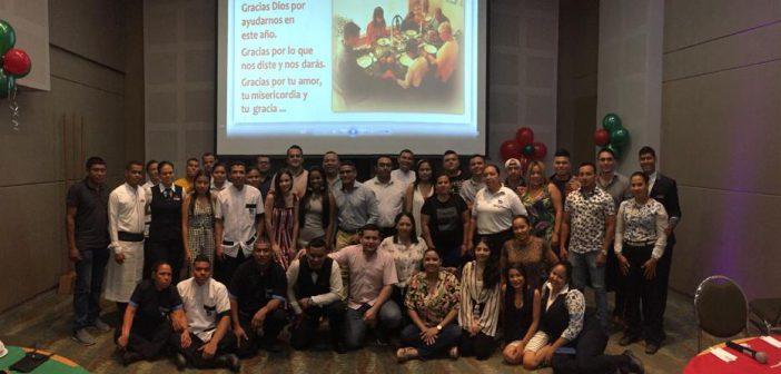 Celebración del día de acción de gracias en GHL Hotel Montería