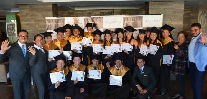 Graduación en el Hotel Sonesta Cusco