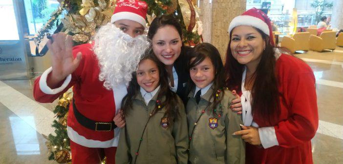 Programa social en el Hotel Sheraton Quito