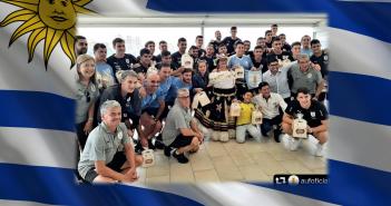 «Celeste regálame un sol» así recibimos a Uruguay en Sonesta Bucaramanga