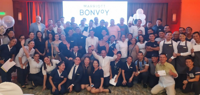 Aniversario Marriott Bonvoy en Sheraton Guayaquil