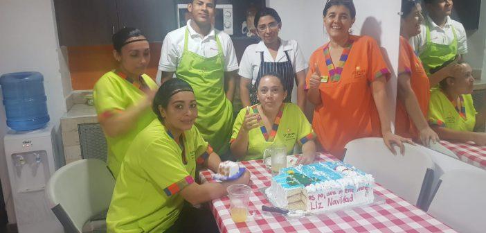 Delicioso regalo para los empleados de LQ Tegucigalpa